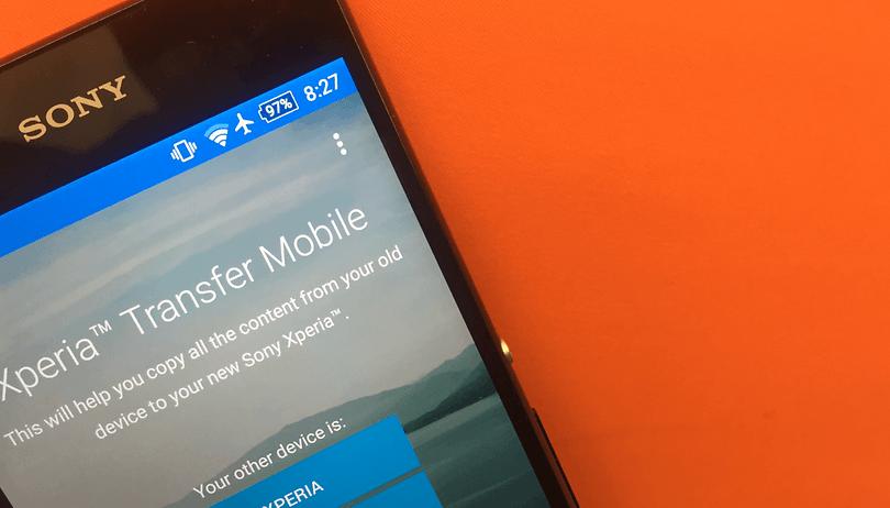 Xperia Transfer Mobile: Kontakte und Daten zu Sony-Smartphones übertragen