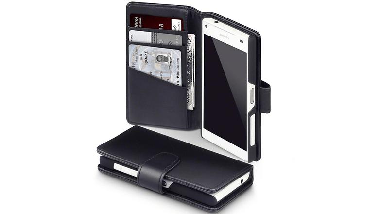 sony xperia z5 compact terrapin leder case