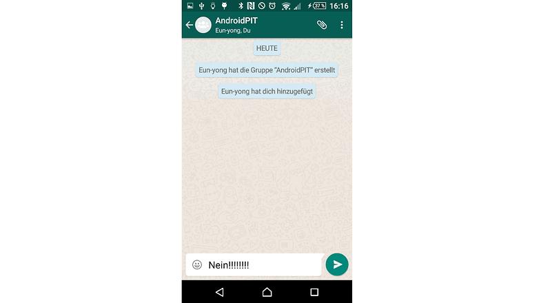 whatsapp filesharing