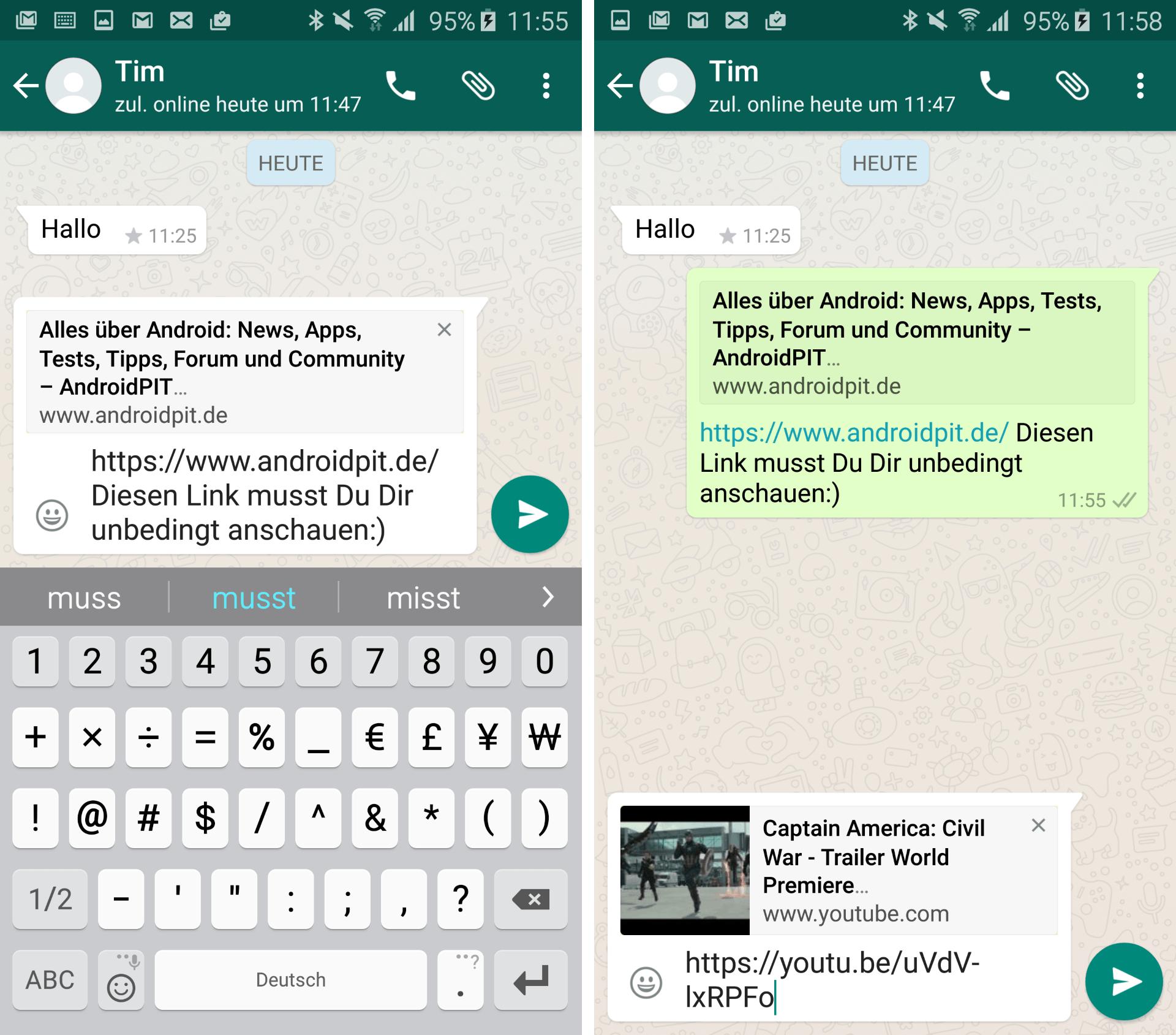 Umfrage Ist Whatsapp Für Euch Der Beste Messenger Androidpit