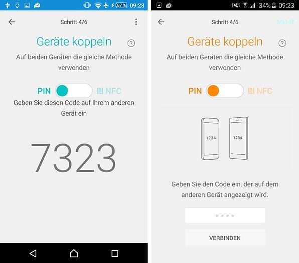 Xperia Transfer Mobile Kontakte Und Daten Zu Sony Smartphones