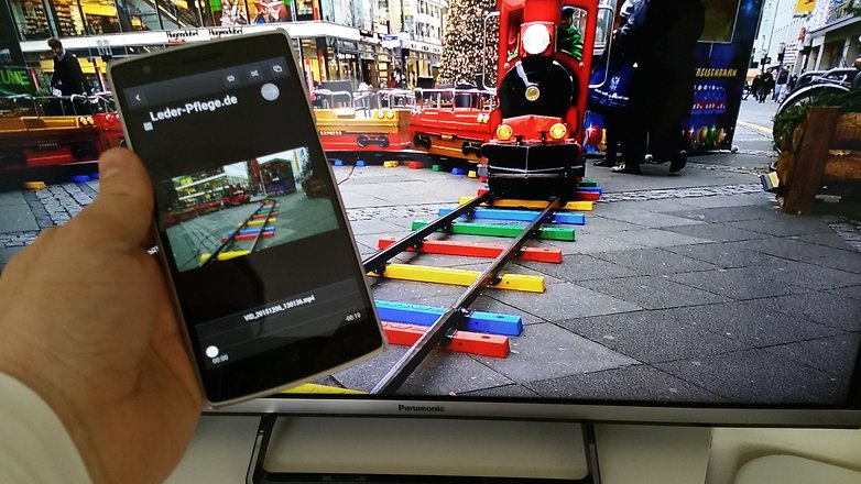 conectar smartphone al televisor