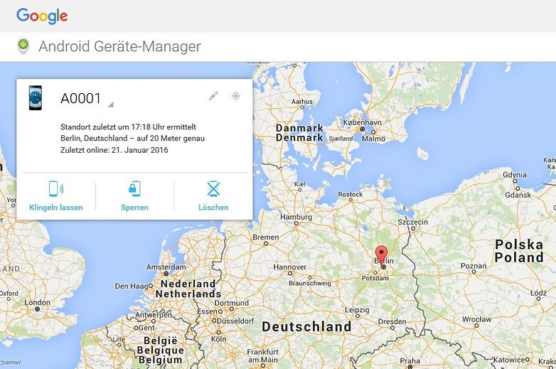 android geraete manager