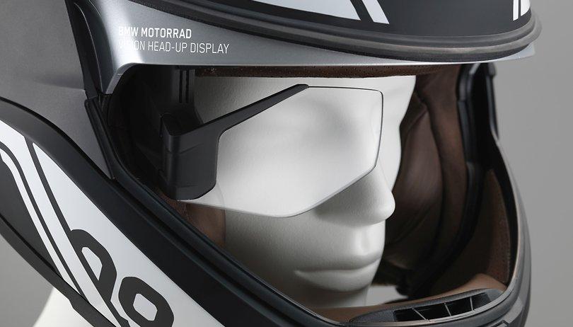 Motorradhelm: BMW baut Google Glass fürs Motorrad