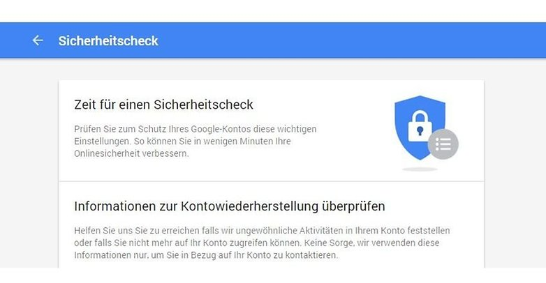 google sicherheitscheck