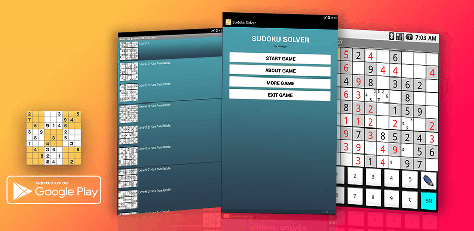 android game sudoku solver is one of the most popular free word