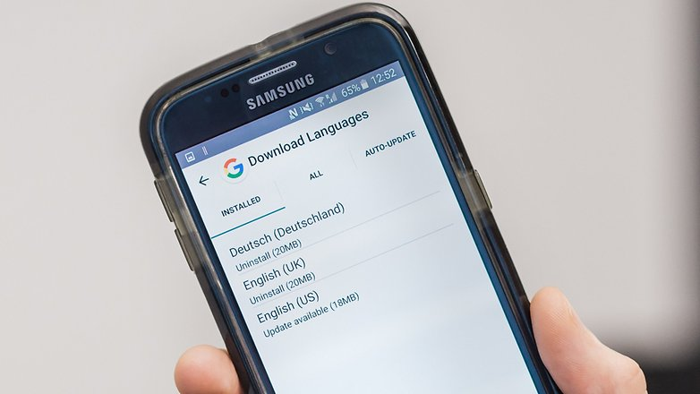 AndroidPIT google now dowloaded languages