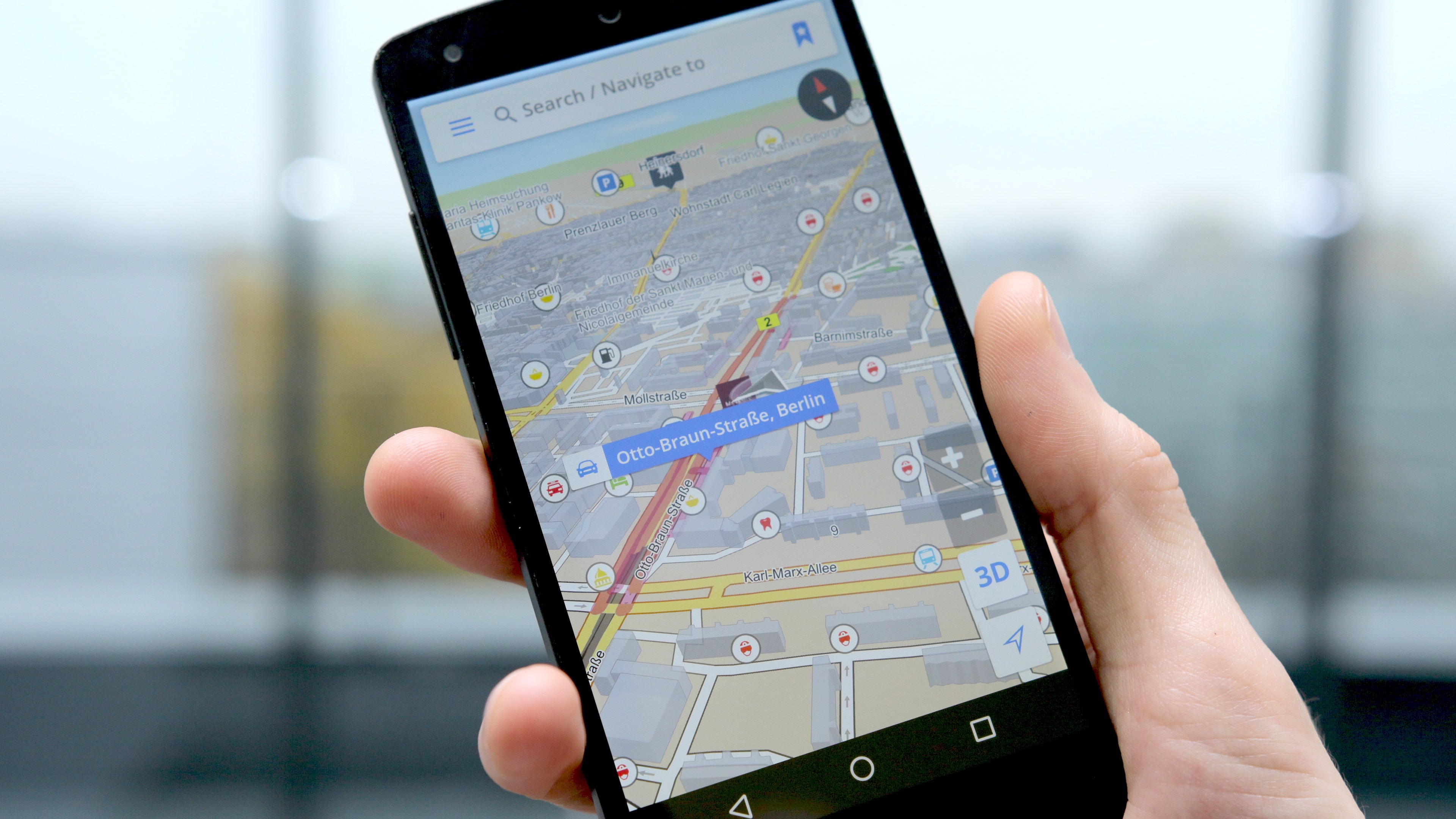 Navigator without internet for Android. Best navigators