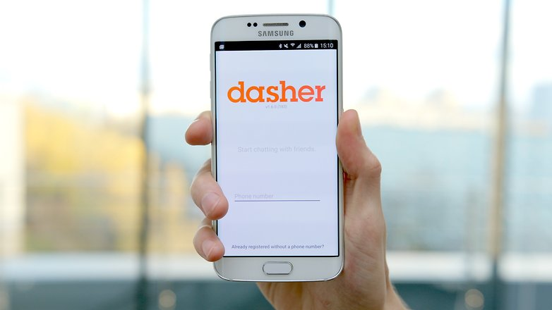 dasher messenger app