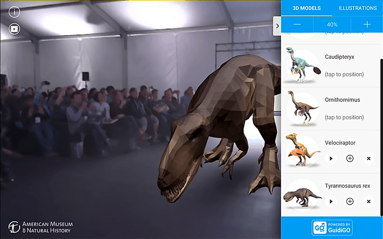 androidpit project tango google io dinosaur