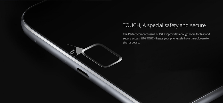 umi touch angle