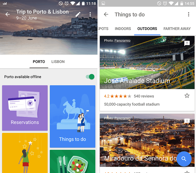 androidpit what is on my phone google trips