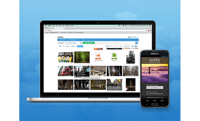 androidpit zoolz cloud storage deal 1