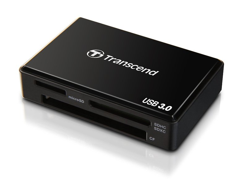 transcend usb reader
