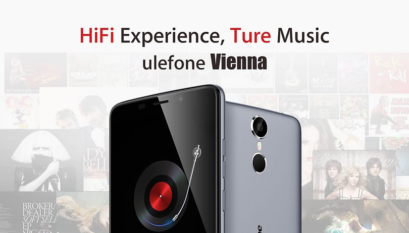 Ulefone Vienna: a HiFi device with 32 GB storage and sharp display