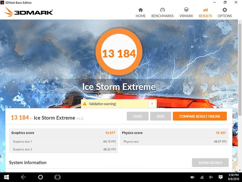 androidpit xiaomi mi pad 2 3d mark benchmark score 1