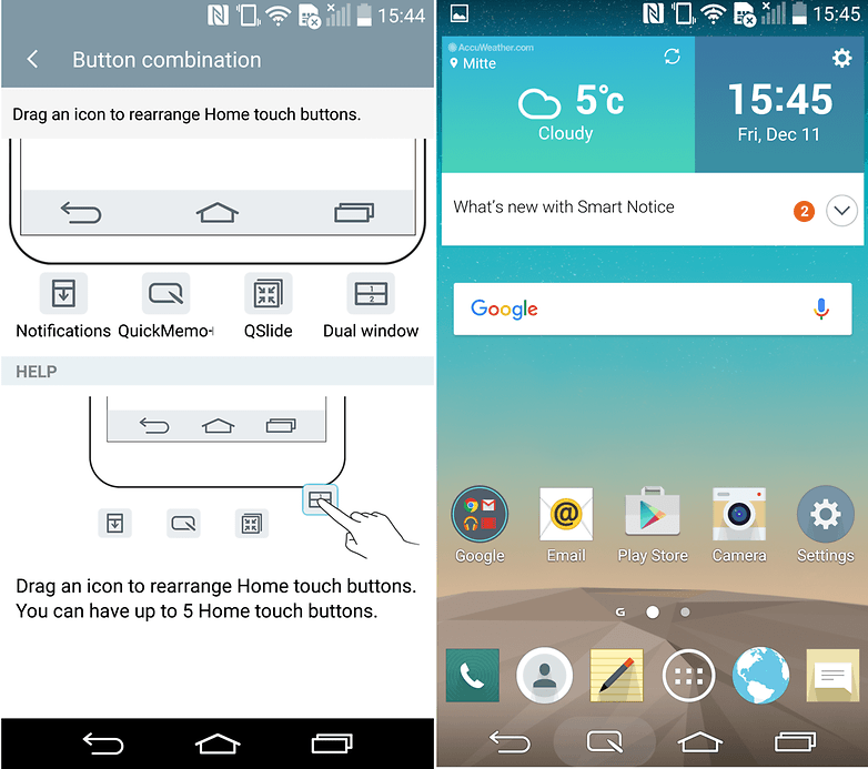 How to take a screenshot with the lg g3 androidpit lg g3 screenshot tutorial 1 ccuart Gallery