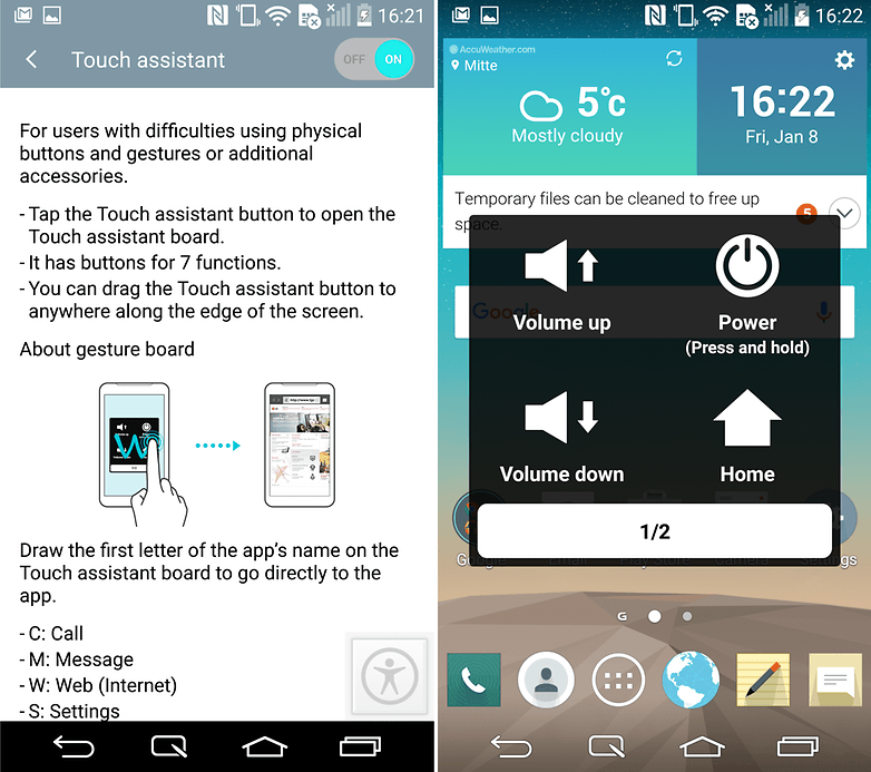 androidpit lg g3 tips and tricks touch assistant