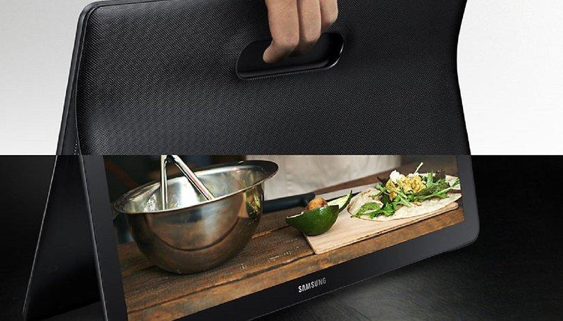 Samsung lança o Galaxy View, um tablet gigante de 18,4 polegadas que pode substituir sua televisão!
