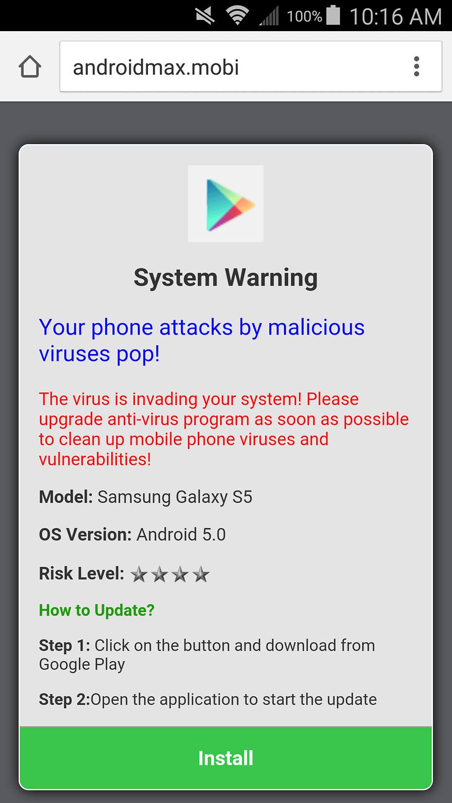Phone Virus On Phone Android how do i get rid of a virus on galaxy s5 android forum androidpit image image