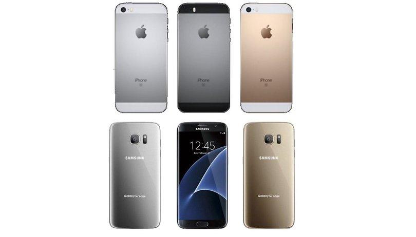 iPhone SE vs Samsung Galaxy S7: El tamaño sí que importa, y el precio más