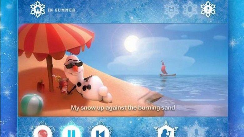 frozen app