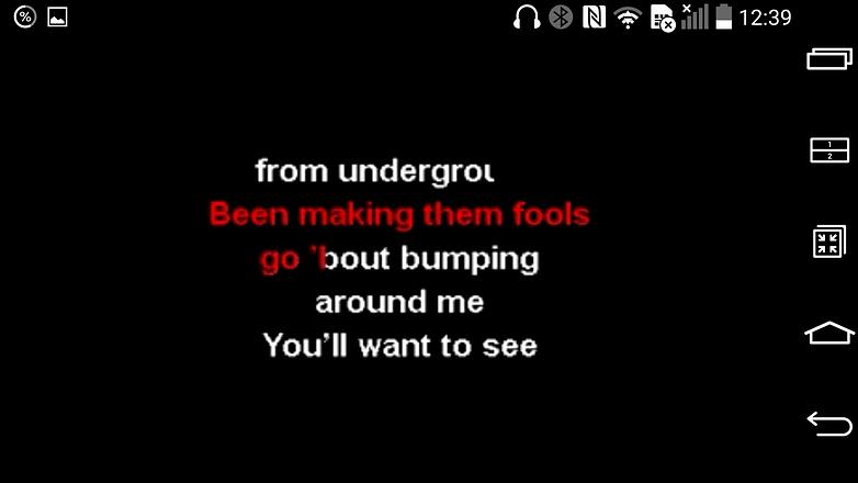 karaoke tune