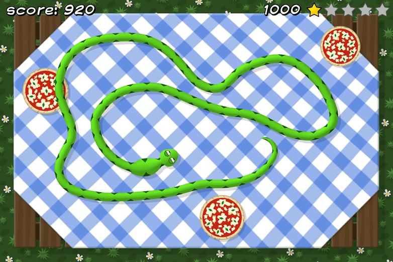 piza snake app