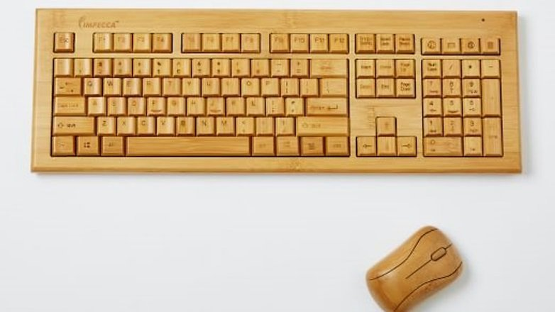 teclado bambU westelm