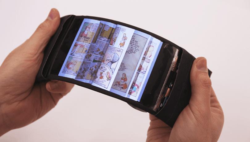 Você realmente precisa de um smartphone Android com tela flexível?