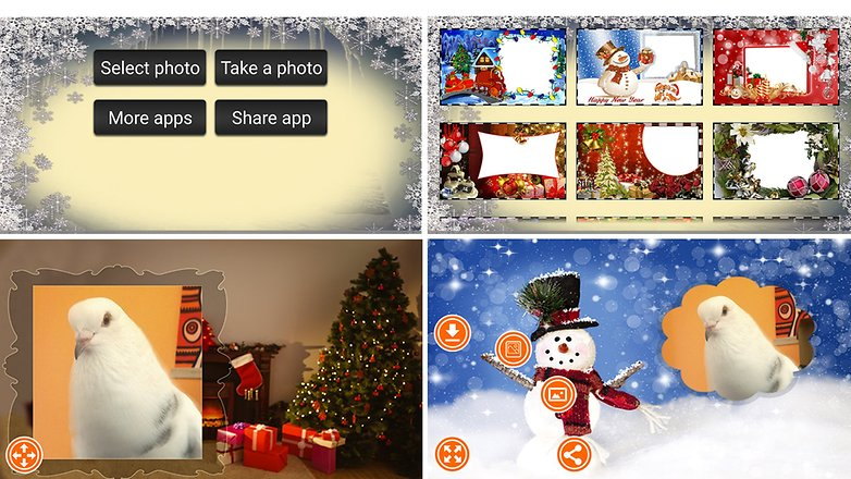 Natal Molduras Para Fotos