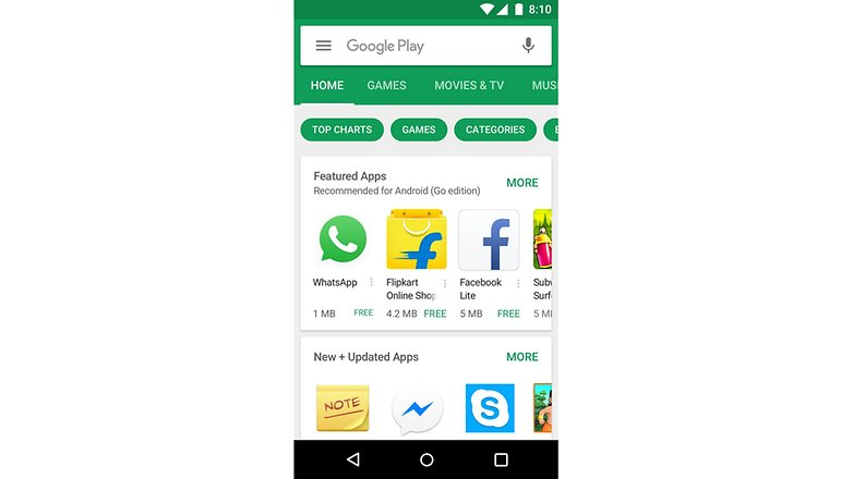 android go play store