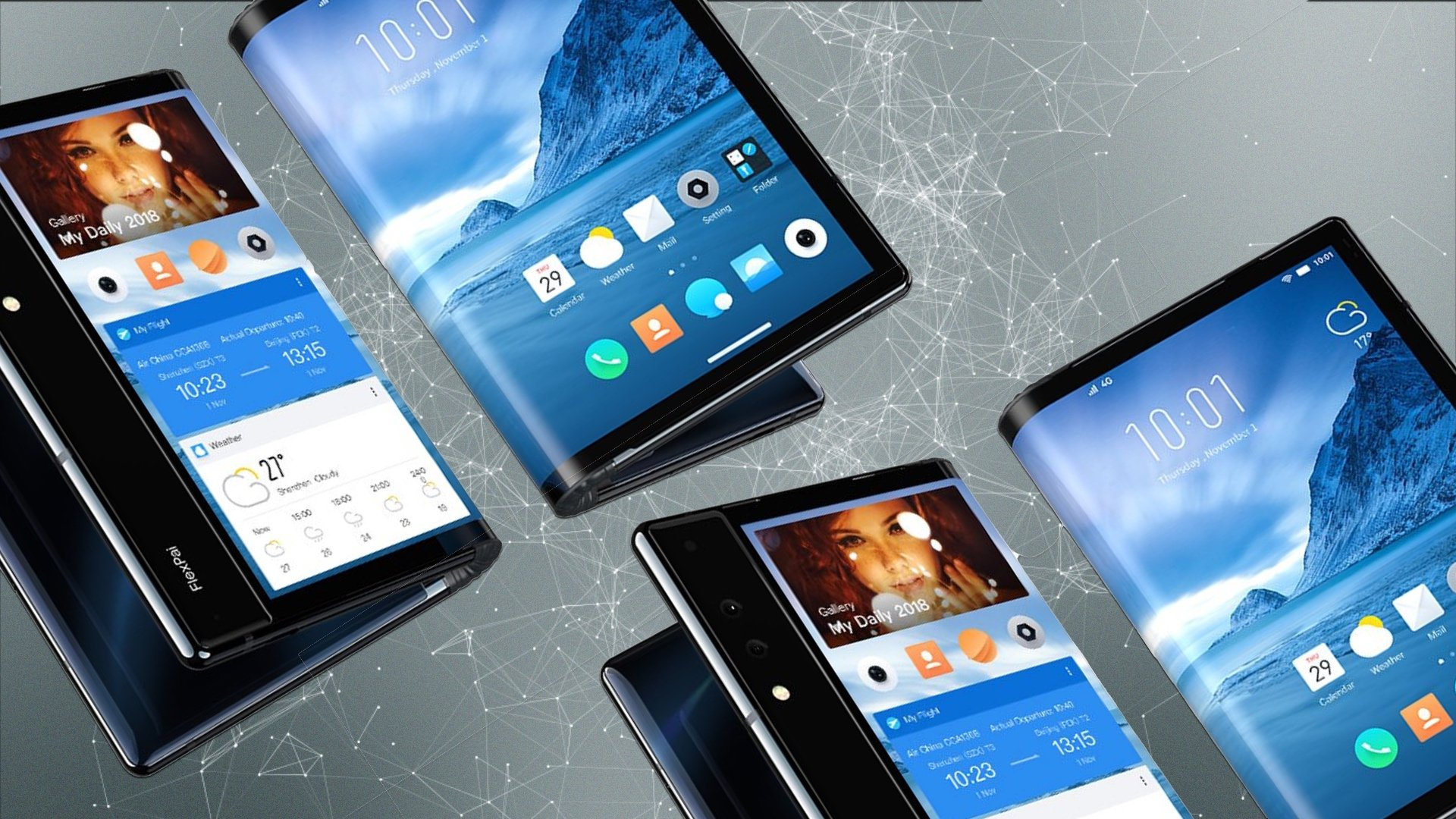 """Résultat de recherche d'images pour """"smartphones pliables"""""""