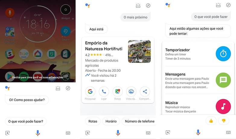 google assistente portugues