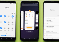 Galaxy S9 está recebendo Android Pie com interface One UI