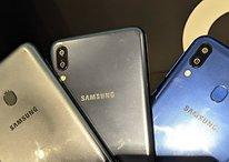Galaxy M10, M20 e M30 chegam às lojas online com preços a partir de R$ 899