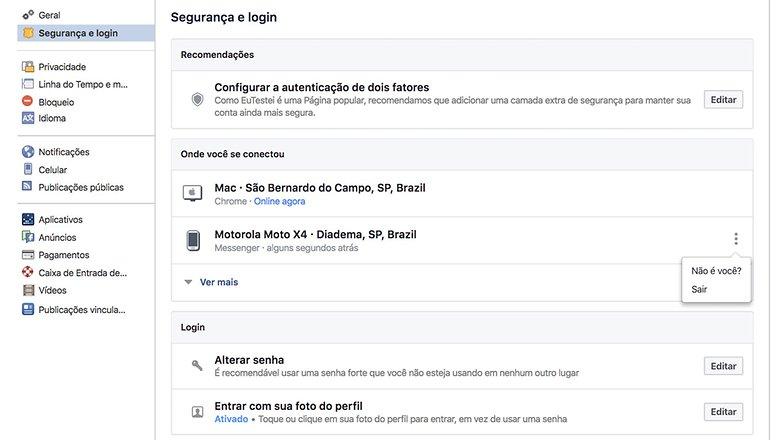 entrar no messenger do facebook