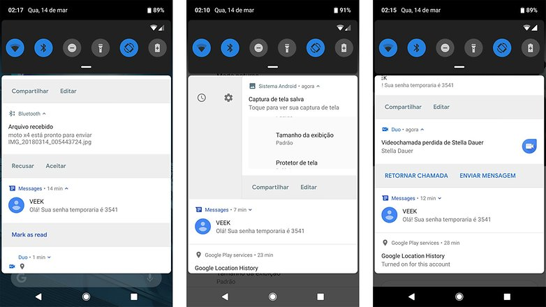 notificacoes android p