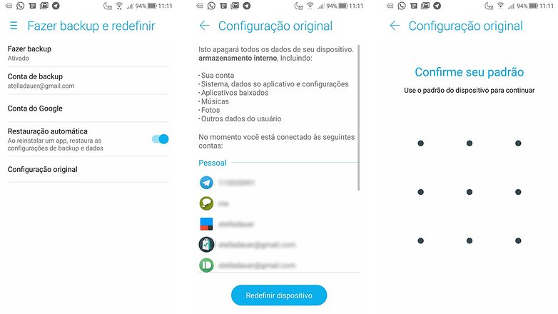 como preparar seu celular usado para a venda androidpitreformat android smartphone ptbr