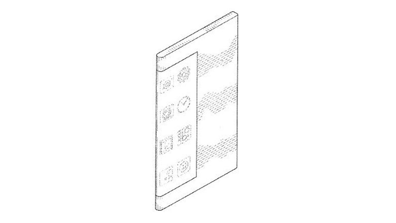 samsung bended display patent 5