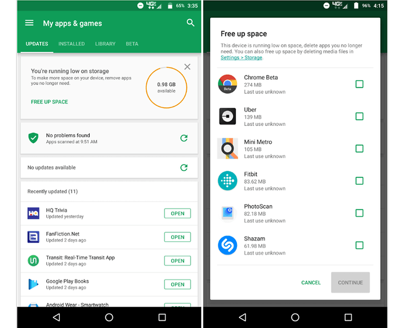 9to5google update play store