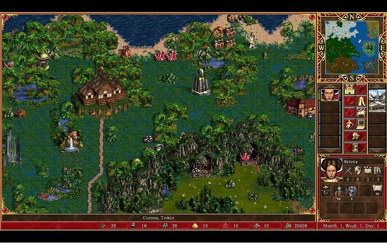 GAME heroes of might and magic