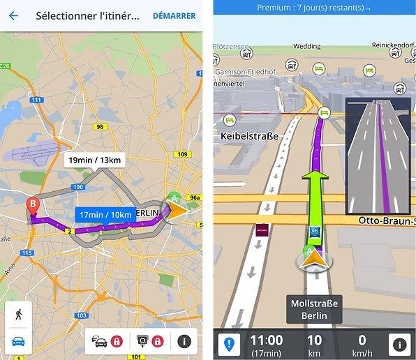 Les meilleures alternatives à Google Maps pour le GPS