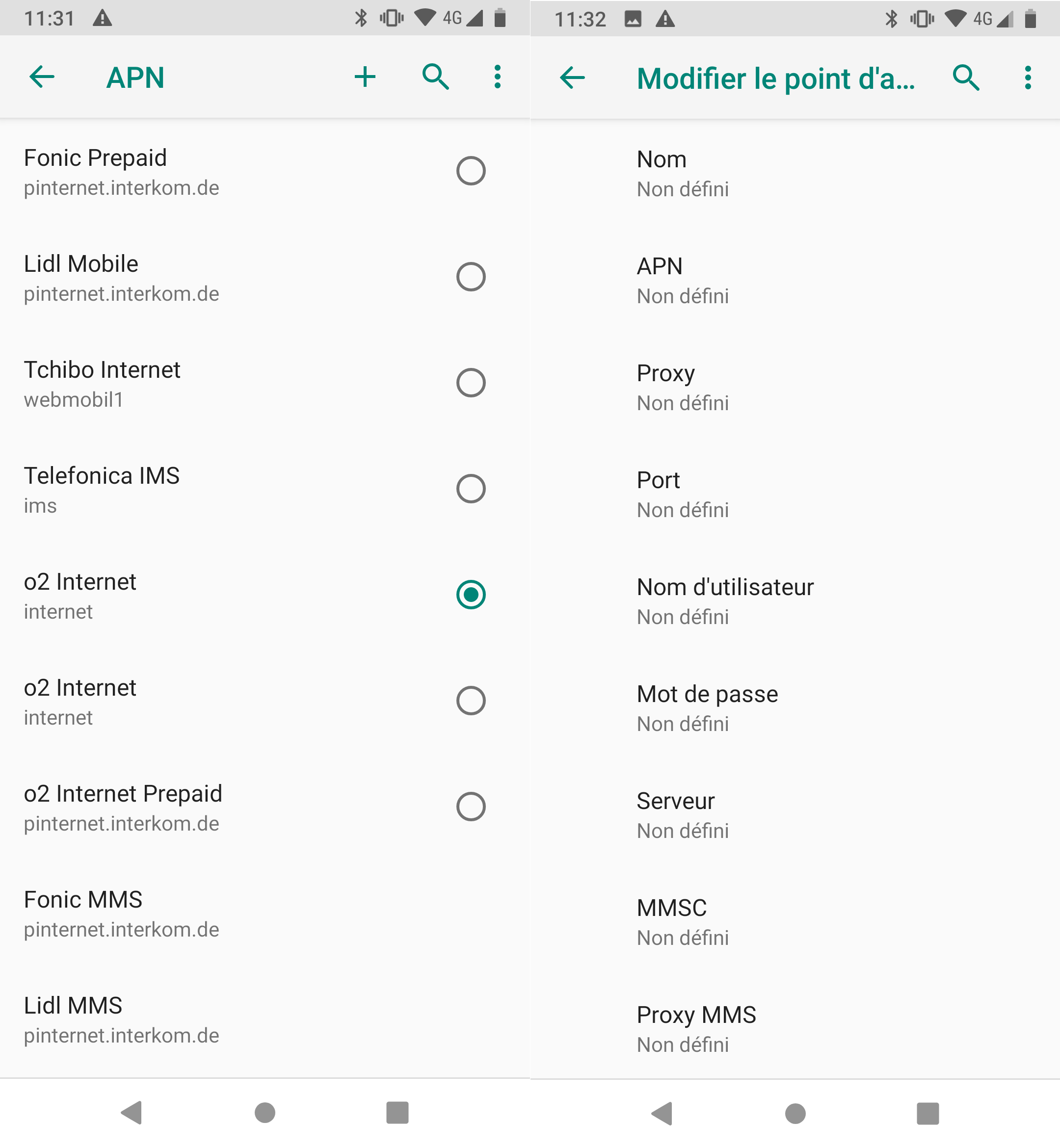 comment configurer internet avec free mobile