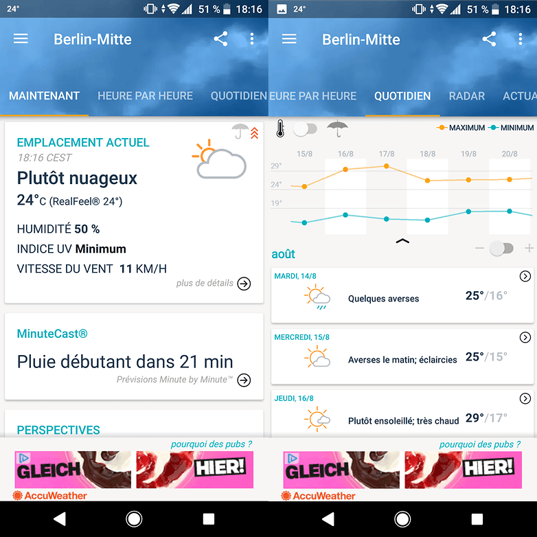 androidpit france meteo accuweather