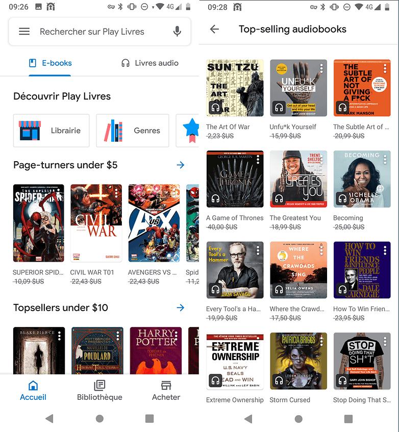 Limiter sa consommation de données sur Google Play Musique