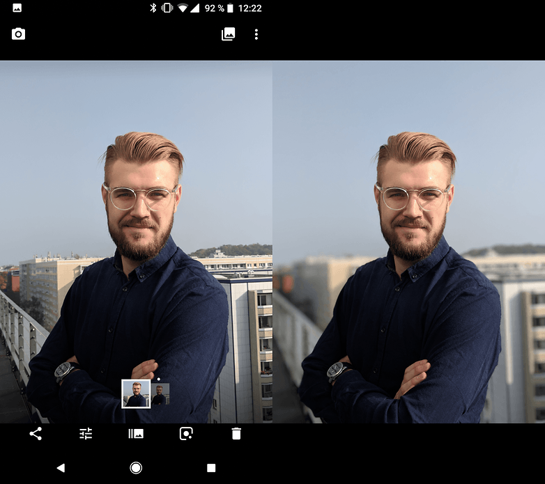 androidpit google pixel 2 portrait mode