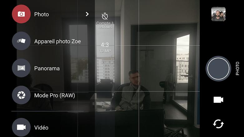 androidpit htc 10 camera menu