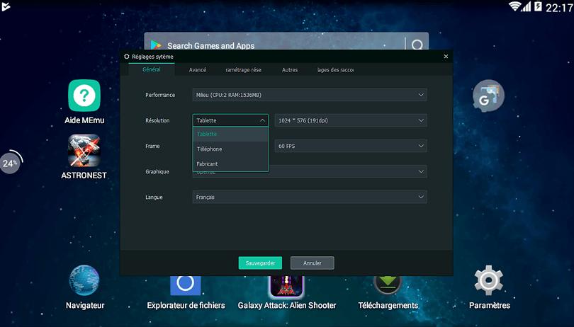 telecharger application pour android sur pc