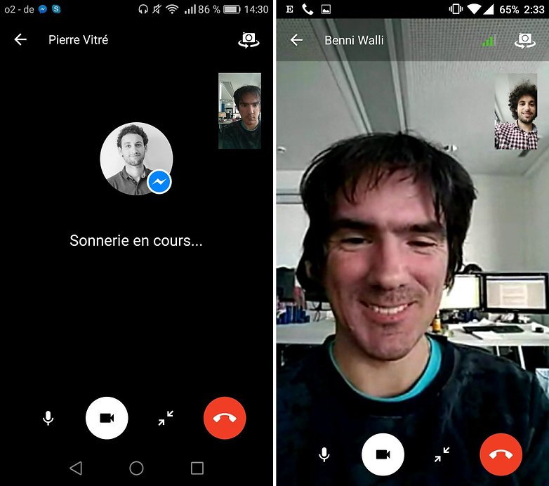 androidpit messenger videochat im
